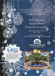 30th Annual Main Street Festival of Lights